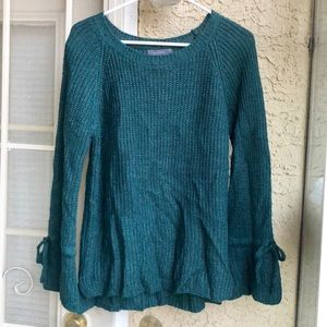 Be cool forest green sweater, medium